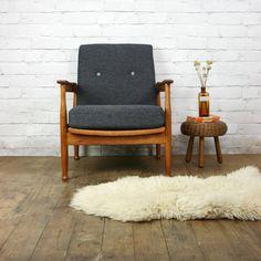 Vintage Guy Rogers Manhattan Armchair (2 of 2)