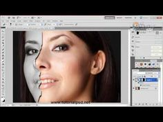 ▶ Effect of porcelain mask in photoshop - YouTube