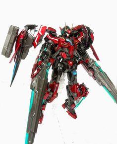 "Custom Build: MG 1/100 00 Raiser + Seven Sword ""REVENANT Sword Raiser"" - Gundam Kits Collection News and Reviews"