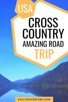Planning a cross country road trip? Here is an amazing itinerary for you. Travel Advice, Travel Tips, Cross Country Trip, Adventures Abroad, Us Destinations, Us Road Trip, United States Travel, Vacation Trips, Travel Around The World