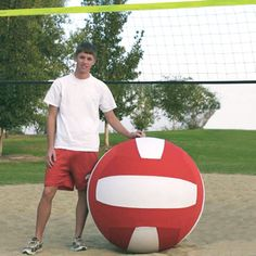 Giant Volleyball Game