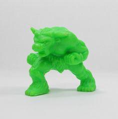 Monster In My Pocket - Series 2 - 64 Minotaur - Neon Lime - Mini Figure