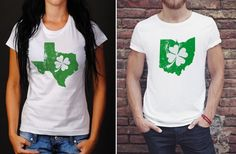 GroopDealz | Shamrock State Tees XS to 3XL!
