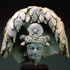 樹下観耕の太子像頭部Head of Siddhartha Meditating under a…