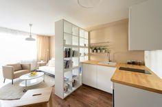 Interiér vzorového jednoizbového bytu Ikea, Bratislava | RULES architekti