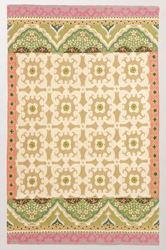 Someday I will live in a home with white floors and bright, beautiful rugs.  It may have to be without children, though.