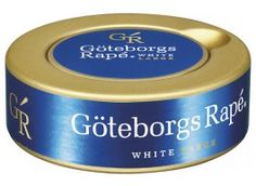 Göteborgs Rapé - White Portion Snus.  The best flavor.