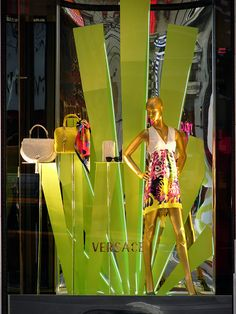 Versace Window Display, New York City