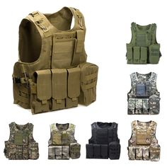 Od Aa Shield Molle Hunting Plates Carrier Mbav Style Military Tactical Vest Security & Protection Workplace Safety Supplies
