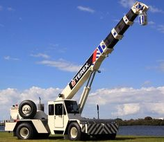 Simple Guide To Franna Crane - SimpleGuideTo The Franna crane is a truck-mounted crane that is consisted of two parts: a carrier and a boom. Franna crane differs from the rest on the market for its mobility and position of cab which is placed on the front chassis section. #franna #cranes