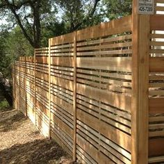 Wood Fence Design, Modern Fence Design, Privacy Fence Designs, Privacy Landscaping, Wooden Fence, Patio Design, Outdoor Rooms, Outdoor Gardens, Outdoor Living