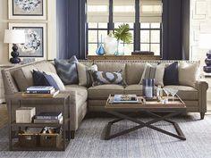 Harlan Sectional Sofa by Bassett