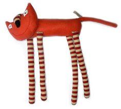 Břichopas about toys: Textilní hračky Soni Mrázové