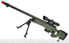 Airsoft Bolt Action Heavy Weight Sniper Rifle by UFC (Configuration: Black / 500 FPS Upgrade) Tactical Equipment, Tactical Gear, Muzzle Velocity, Adjustable Legs, Airsoft Guns, Paintball, Action, Nerf Storage, Weapons