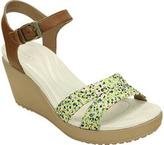 0d47b0050 Crocs Leigh II Ankle Strap Graphic Wedge Sandal. Women s ...