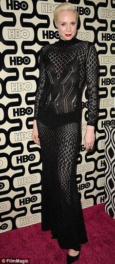 "Gwendoline Christie, ""Brienne of Tarth"" from ""Game of Thrones"""