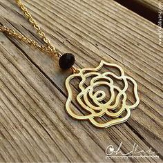Flower Goldfield Necklace |1048