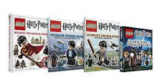 Vynesse Cards and Gifts Lego Harry Potter, Harry Potter Characters, Welcome To Hogwarts, Lego Construction, Toy Collector, Lego Building, Sticker Books, Hardcover Books, Reading Resources
