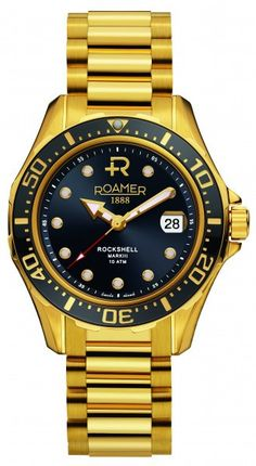 I've got 10% coupon code for sharing this product. Roamer Rockshell mark III 220633_48_55_20 men's watch
