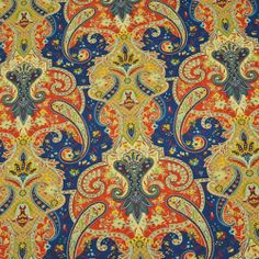 Fabric Store - Lyrical Legend - ML235325 - Evening Sky - Eastern Intrigue collection