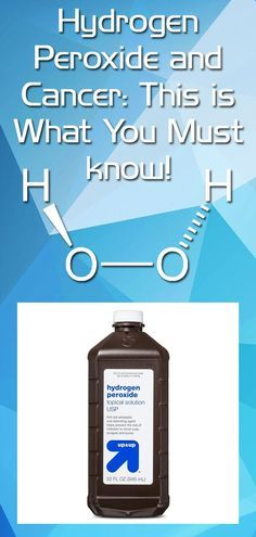 Hydrogen Peroxide and Cancer: This is what you MUST know! | Healthy Eon | #hydrogen #cancer #health