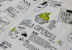 MagSpreads - Editorial Design and Magazine Layout Inspiration: Flatmate's Handbook - Lauren Earl