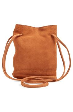 Street Level Suede Crossbody Bag