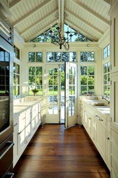 Sun Room Kitchen.