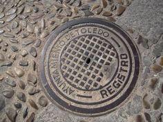Toledo, Spain Manhole Cover