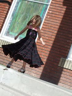 Twirly Whirly Dress by: Brown Paper Packages.