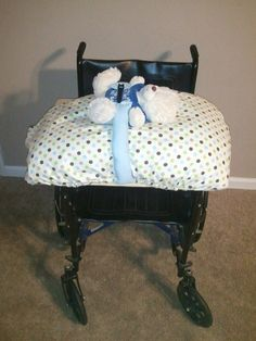 Adaptive baby changing table. Portable, easy to take on and off, and was under $30 to make!