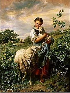Shepherding Our Flock | Read all the beautiful Qualities of a Shepherdess. www.aboverubies.org