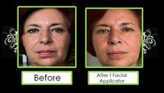 It Works before and after facial wrap http://wrapslady.myitworks.com/shop/product/219/