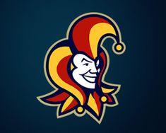 Logo Design: Jokers, Jesters and Harlequins Mascot Design, Logo Design, Joker Logo, Minimalist Drawing, Men's Pocket Squares, Visual Communication, Art Logo, Logo Templates, Team Logo