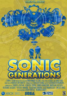 Sonic Generations - 25th Anniversary Poster by stephenb19 on DeviantArt