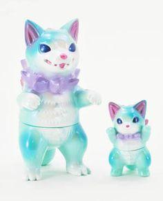 New Kaiju Negora and Shibara colorways by Konatsu Vinyl Toys, Vinyl Art, Found Object Art, Character Concept, 3d Character, Science Fiction Art, Designer Toys, Toys Photography, Doll Toys