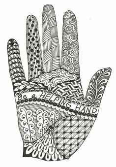 Designs for Zentangles | This is a new Zentangle design I made to add to my altered book. I ... by kristin.small