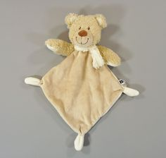 Doudou plat ours beige Tex Baby