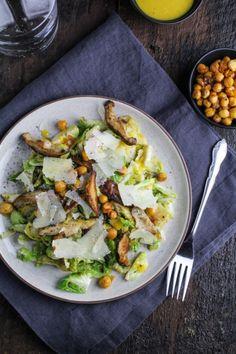 Brussels Sprout Caesar Salad   Katie at the Kitchen Door