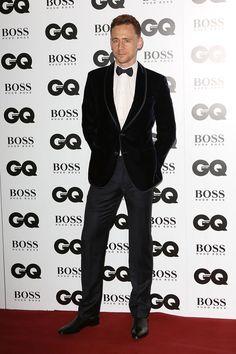 Tom Hiddleston   2013 GQ Men of the Year Awards: Boys in Tuxes   Tom & Lorenzo