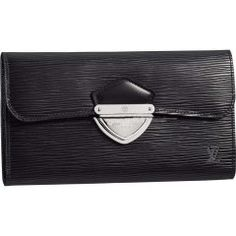 Louis Vuitton M63882 Wallet Eugenie Wallet Black