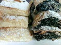 Házi húzott rétes, valami elképesztően jó lett! - Egyszerű Gyors Receptek Hungarian Recipes, Spanakopita, Food And Drink, Sweets, Bread, Cookies, Baking, Cake, Ethnic Recipes