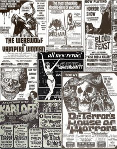 Grindhouse fabric