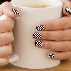 Minx Nails Zig Zag Chevron Pattern Minx® Nail Wraps #zazzle #Minx #Nails #ZigZag #Chevron #Pattern #Wraps #Accessories #fashion #girls #woman http://www.zazzle.com/minx_nails_zig_zag_chevron_pattern_minx_nail_wraps-256786078250259708