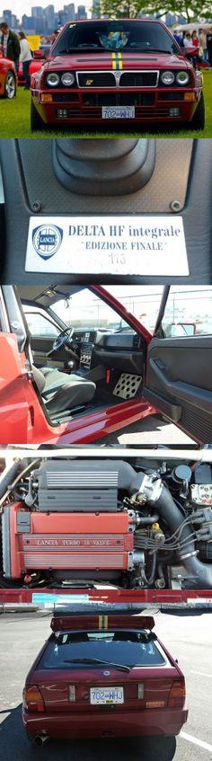 """... 1994 Lancia Delta Integrale Evo 2 """"Edizione Finale"""" My Dream Car, Dream Cars, Maserati, Ferrari, Baby Car Mirror, Delta Force, Lancia Delta, Indy Cars, Rally Car"""