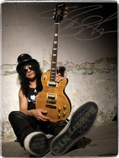 On my wish list~ Gibson lespaul ..slash guitar