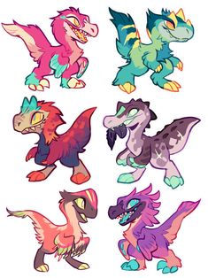 DeviantArt is the world's largest online social community for artists and art enthusiasts, allowing people to connect through the creation and sharing of art. Dinosaur Drawing, Dinosaur Art, Manga Dragon, Dragon Art, Mythical Creatures Art, Cute Creatures, Creature Concept Art, Creature Design, Beast Creature