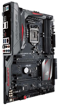 ROG's ATX gaming motherboard is honed and optimized to be perfectly balanced…