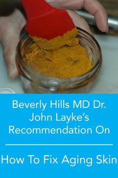 See What Leading Beverly Hills Plastic Surgeon Dr. John Layke Recommends to Fix Aging Skin Without Surgery.