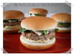 MINI CHEESEBURGER fragolaelettrica.com Le ricette di Ennio Zaccariello #Ricetta